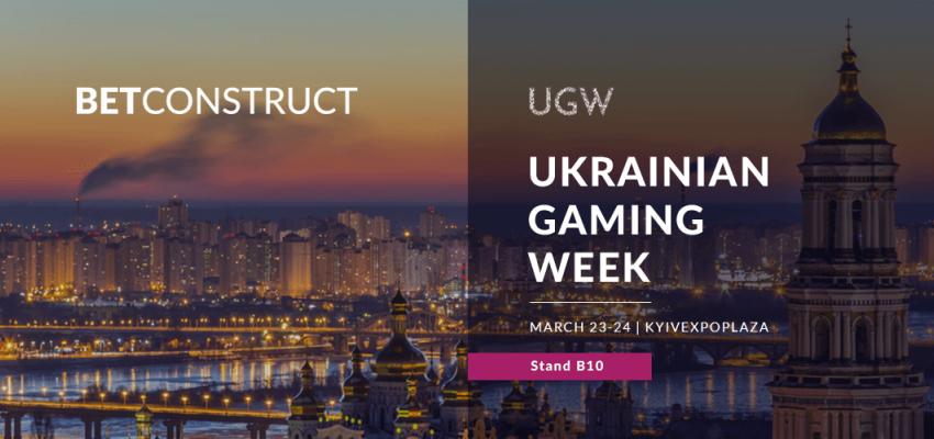 BetConstruct attends the Ukrainian Gaming Week