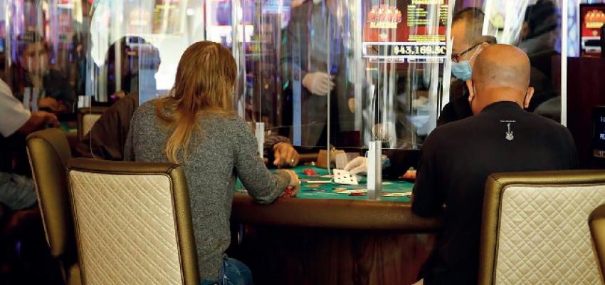 КОВИД-19 в игре казино