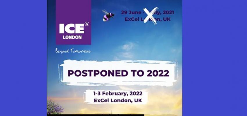 Выставка ICE в Лондоне 2021 отменена