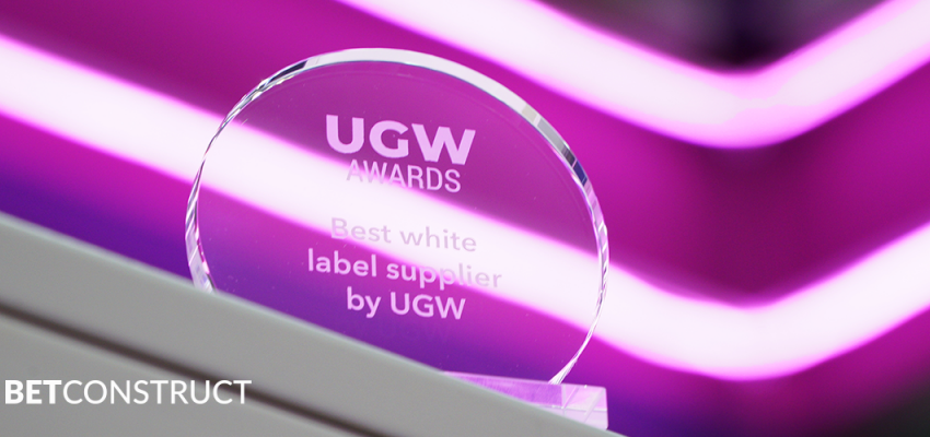 BetConstruct - лучший поставщик White Label на UGW Awards