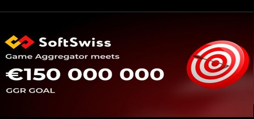 SoftSwiss Game Aggregator Hits Over €150 million GGR milestone